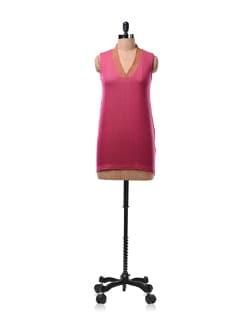 Pink Sleeveless Kurta - Daram