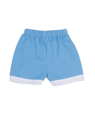 blue cotton shorts set - 14504271 - Standard Image - 4