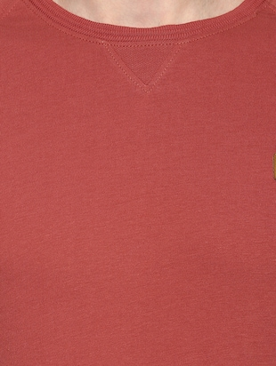 red cotton raglan t-shirt - 14504488 - Standard Image - 4
