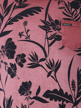 pink cotton all over print t-shirt - 14504938 - Standard Image - 4