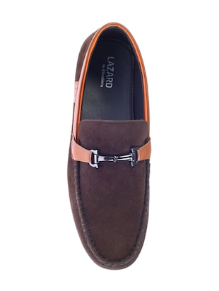brown Suede slip on loafer - 14507055 - Standard Image - 4