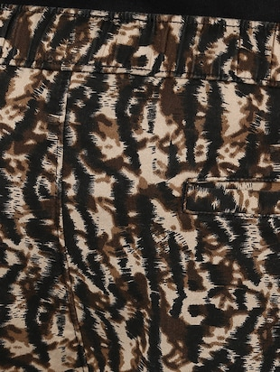 brown cotton  full length jogger - 14514181 - Standard Image - 4
