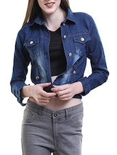 blue denim jacket -  online shopping for jackets