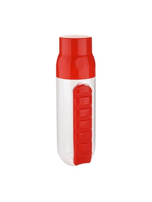 Combo of 2 pcs Pill Organizer Water Bottle 700 ml - 14528863 - Standard Image - 4