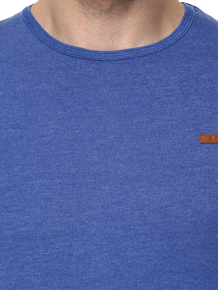 blue cotton  t-shirt - 14531963 - Standard Image - 4