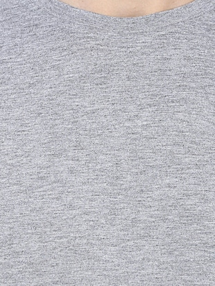 grey cotton t-shirt - 14531967 - Standard Image - 4