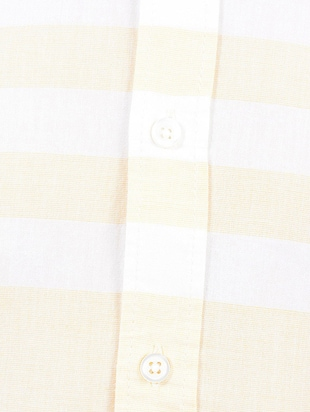 yellow cotton casual shirt - 14543256 - Standard Image - 4