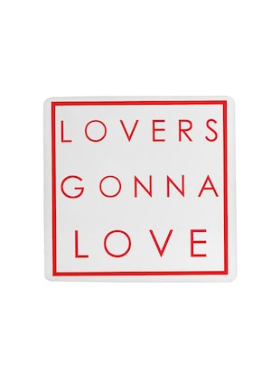 Lovers gonna Love printed Set of 4 coasters - 14543440 - Standard Image - 4