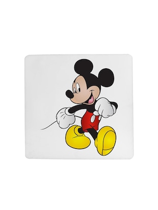 "cartoon character ""Micky Mouse"" printed Set of 4 coasters - 14543441 - Standard Image - 4"