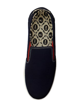 blue casual slipon - 14543738 - Standard Image - 4