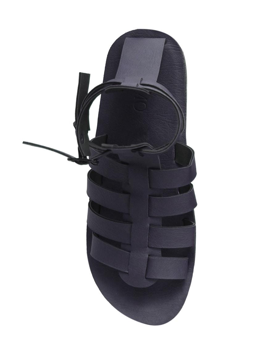 c93f6e4bd Buy Black Leatherette Back Strap Sandals for Men from Metmo Prime for ₹499  at 50% off