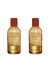 Aroma Secrets Gold Scrub Face Wash, 50 Ml (combo Pack 2) - By