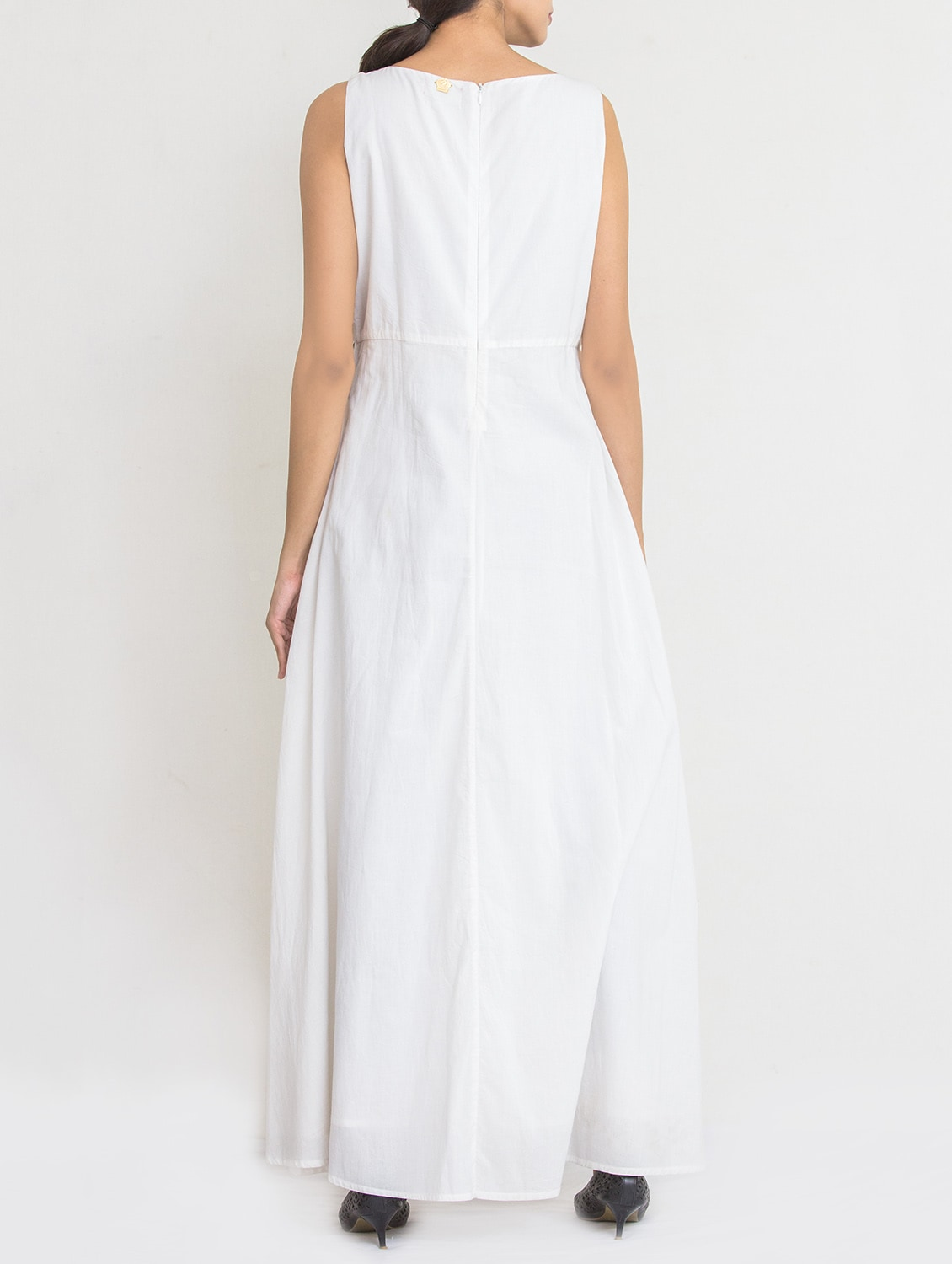 d999deb626cd Buy White Cotton Maxi Dress for Women from Reme for ₹1415 at 51% off