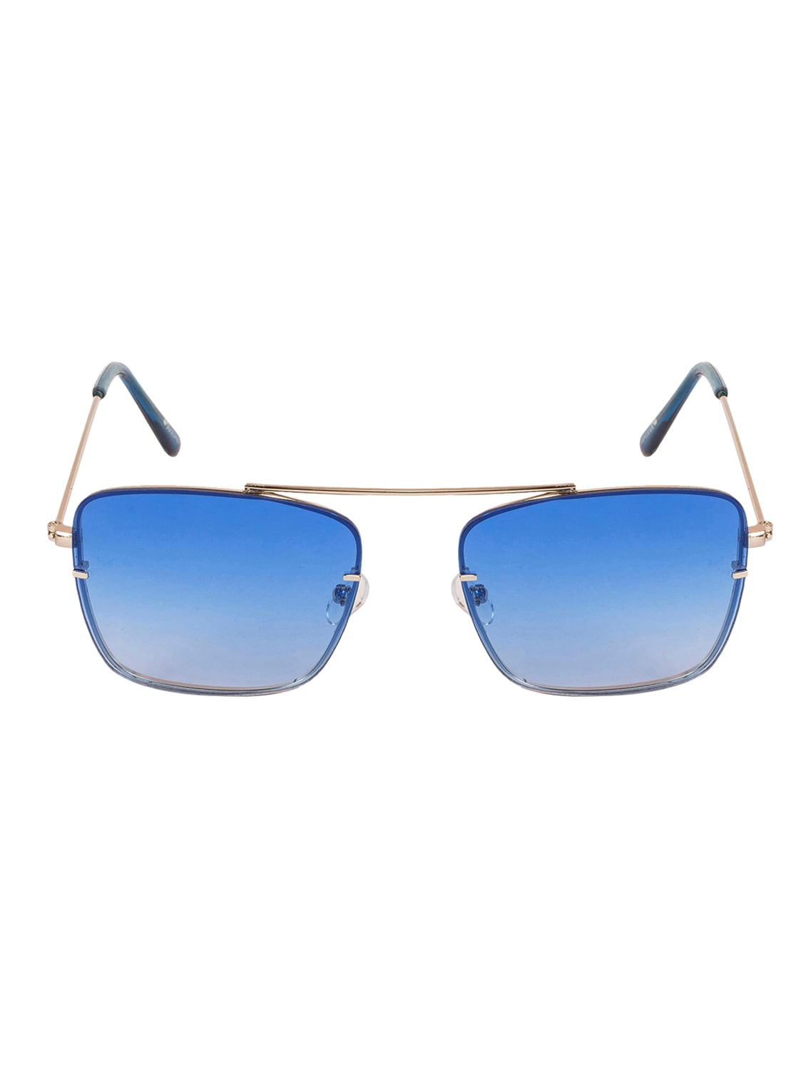 3a6c89f1cf9 Buy Arzonai Dapper Blue Square Shape Uv Protected Sunglasses For Men    Women (ma-2222-s6) by Arzonai - Online shopping for Sunglasses in India