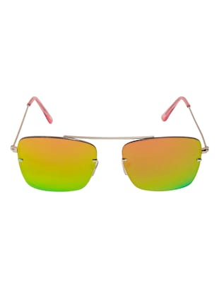 177a7331740 Buy Arzonai Dapper Orange Square Shape Uv Protected Sunglasses For Men    Women (ma-2222-s11) for Women from Arzonai for ₹367 at 72% off