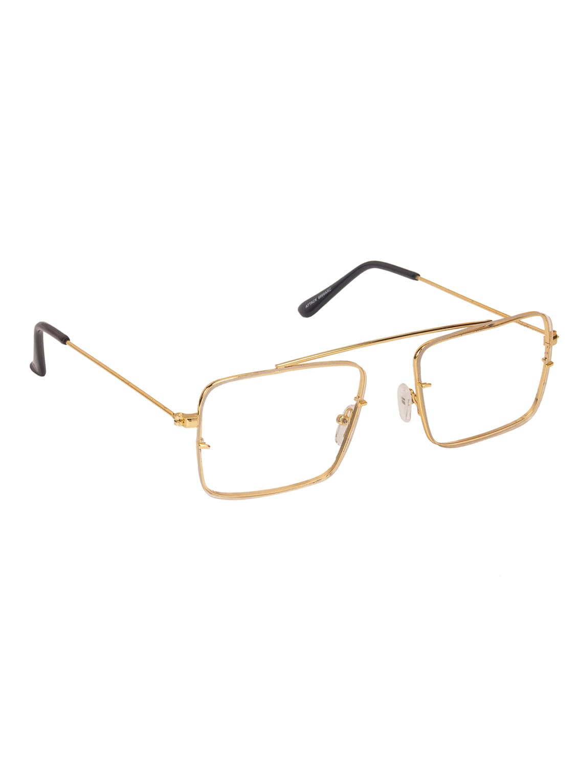 50636e603c2 Buy Arzonai Raees Clear Rectangle Shape Uv Protected Sunglasses For Men s  (ma-9999-s2) for Women from Arzonai for ₹367 at 72% off