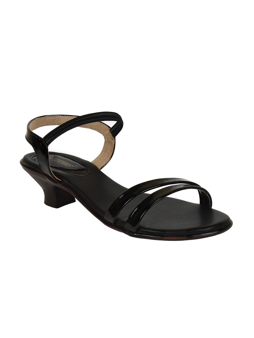 5b2f47cd1540 Buy Black Patent Back Strap Sandals for Women from Legsway for ₹780 at 22%  off