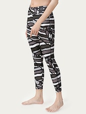black printed legging -  online shopping for Leggings