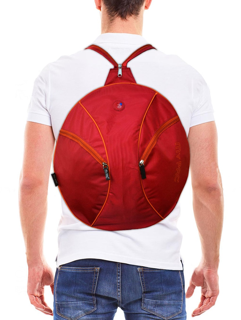 Buy Red Polyester Backpack by My Pac Db - Online shopping for Backpacks in  India  323b22dda4c02