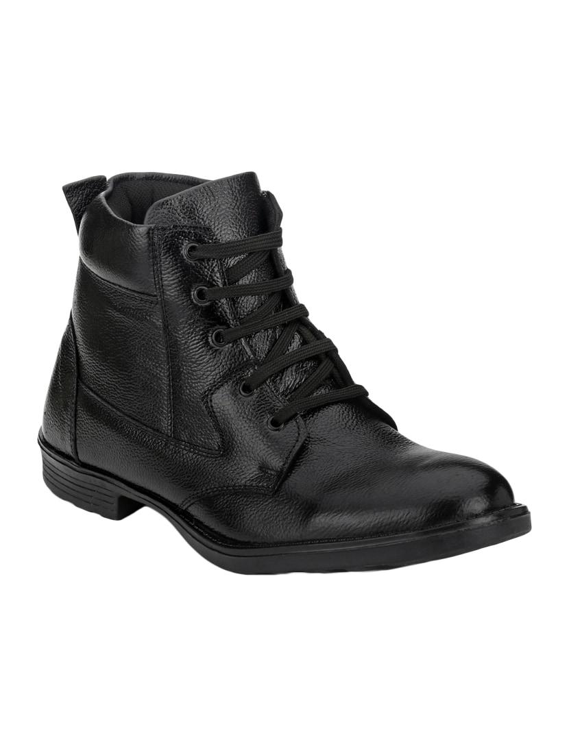 Offer Sale Mactree Men Black Flat Boots