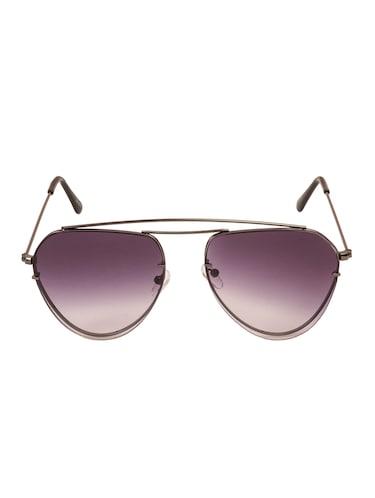 5b7fe003b4db6 Buy Yaadi Plain Silver Aviator Eyeglasses for Women from Yaadi for ...