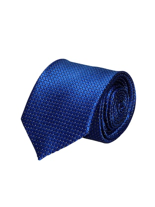 blue micro fiber tie -  online shopping for Ties