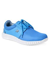 blue Mesh lace up sport shoe -  online shopping for Sport Shoes