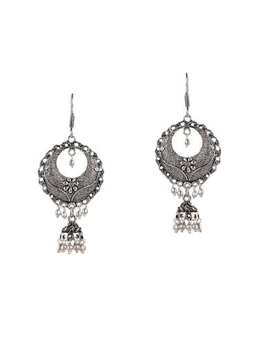 2f7bd67bff3 Silver Earrings - Buy Sterling Silver Earrings Online in India