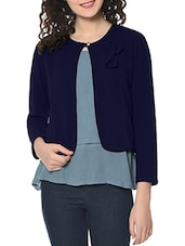 navy blue hosiery shrug -  online shopping for Shrugs