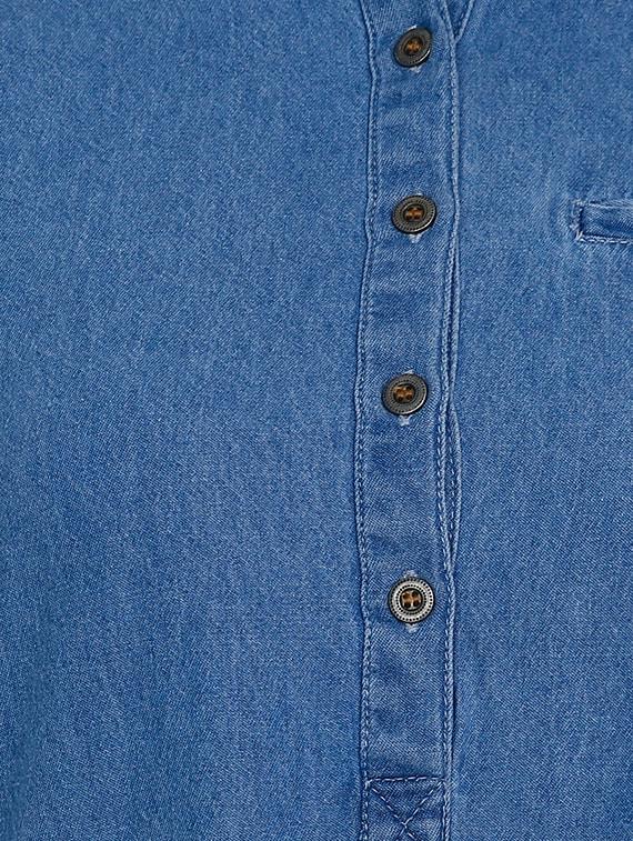 e9b052758213 Buy Light Blue Denim Maxi Dress for Women from Blue Tomatoes for ...