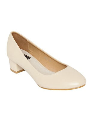 nude slip on pump -  online shopping for formal shoes