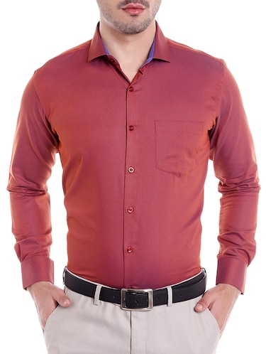 90a3b7099d4 Buy Black Cotton Formal Shirt for Men from Dazzio for ₹993 at 33 ...