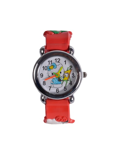 Angelfish silicone strap printed watch - 14676446 - Standard Image - 1
