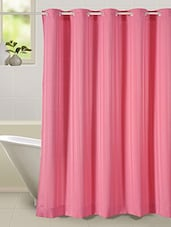 Thick striped prism water repellent plain shower curtain -  online shopping for shower curtains