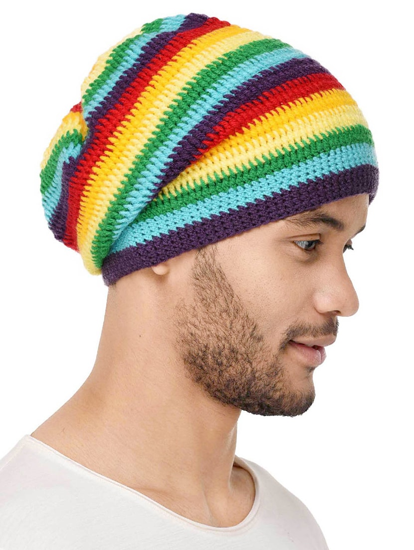 c811cd05de6 Buy Multi Colored Wool Beanie for Men from Vr Designers for ₹328 at 59% off