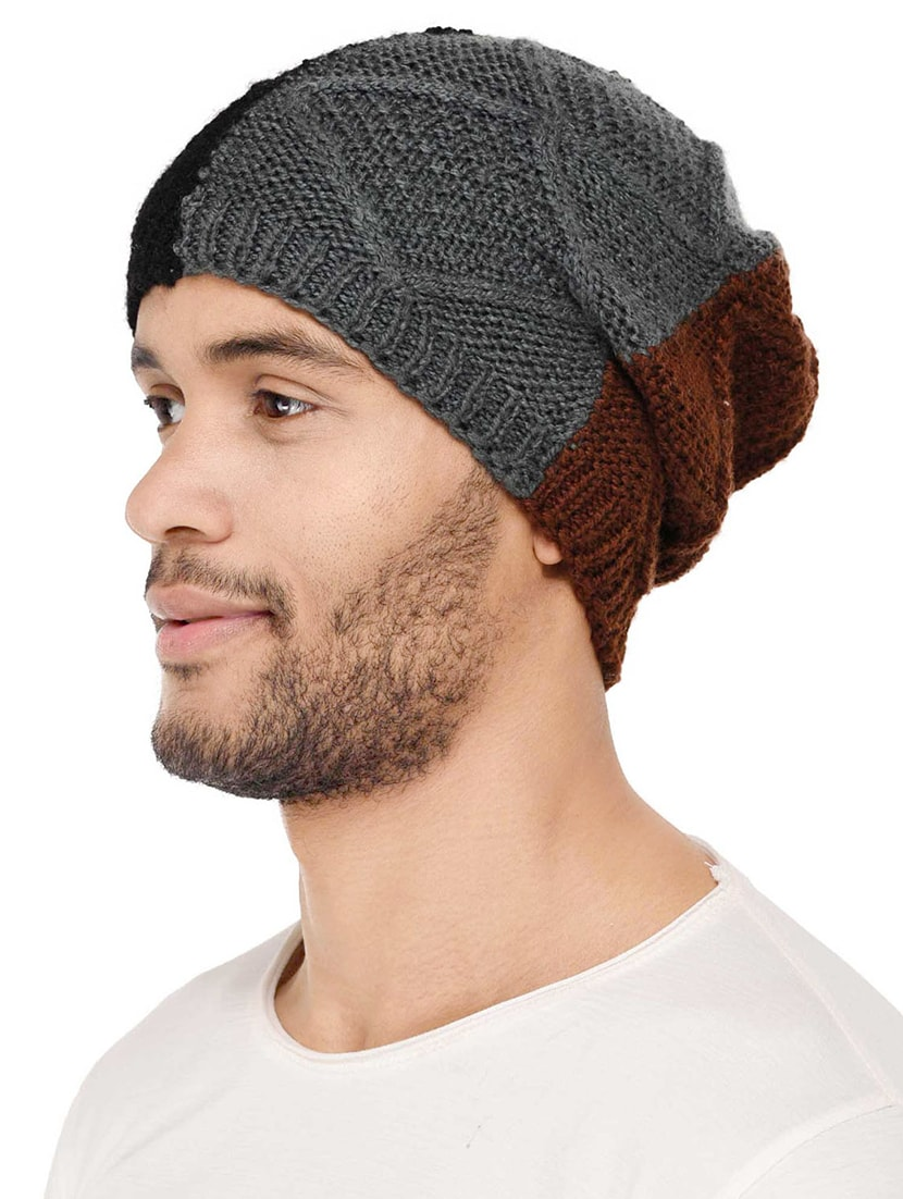 Buy Multi Colored Wool Winter Cap by Vr Designers - Online shopping for Caps  And Hats in India  ac99b1dc37f