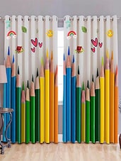 Digitally Printed Door Curtains -  online shopping for Curtains