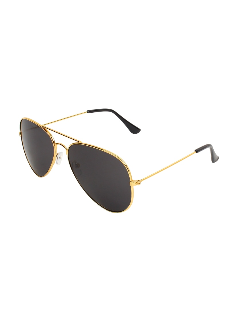 929e740f627 Buy Amour Uv Protected Aviator Golden Frame Grey Glass Men Sunglass by  Amour - Online shopping for Men Sunglasses in India