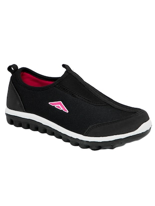 black mesh slip on sports shoes -  online shopping for Sports Shoes