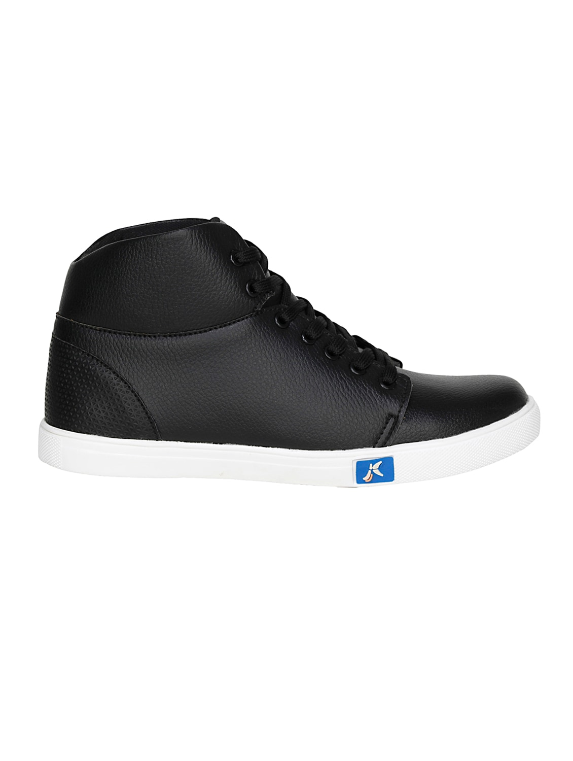 4e72a0c2041a Buy Black Leatherette Lace Up Sneaker for Men from Kraasa for ₹678 at 32%  off