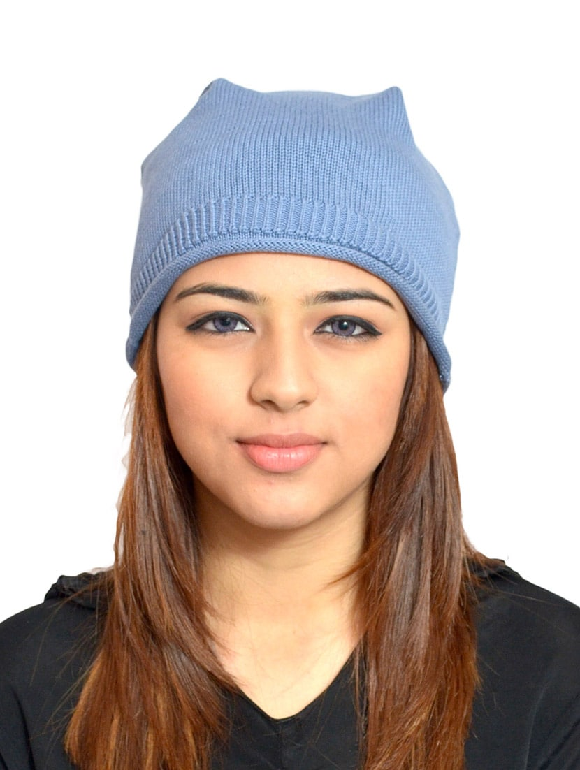Buy Blue Woolen Cap by 513 - Online shopping for Caps in India ... d666506a5e9