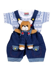 blue denim dungaree set -  online shopping for twin sets & dungrees