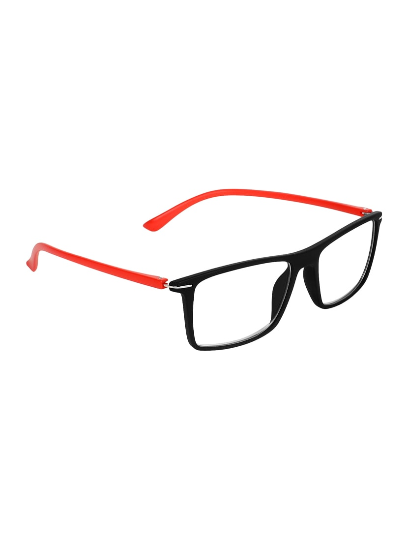 3a169c084f Buy Zyaden Red Rectangle Spectacle Frame Fra-425 by Zyaden - Online  shopping for Men Spectacle Frames in India
