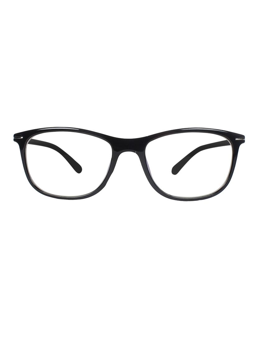 Buy Zyaden Black Rectangle Spectacle Frame Fra-432 by Zyaden ...