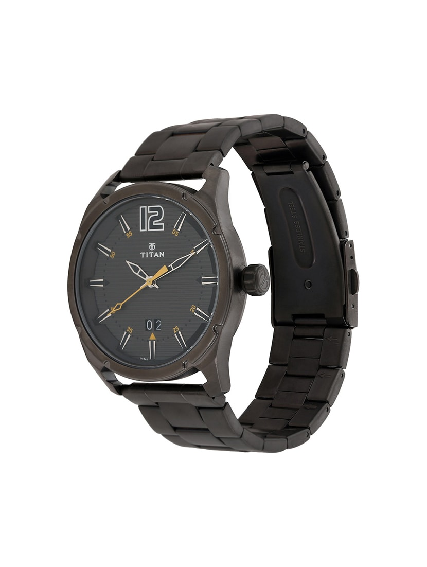 0f675117ea6 Buy Titan Black Dial Watch For Men - 1699qm01 for Men from Titan for ₹6995  at 0% off