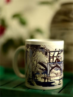 Art Printed Coffee Mug With Tripolia Gate Murshidabad By Swapan Das - Artfairie