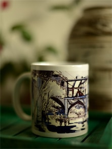 Art Printed Coffee Mug With Tripolia Gate Murshidabad By Swapan Das - Artfairie
