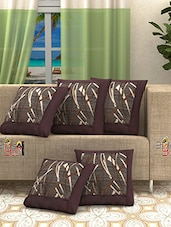 Modern Printed set of 5 cushion covers -  online shopping for Cushion Covers
