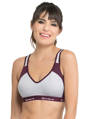 Set of 2 multi colored sports bras - 14846271 - Standard Image - 4
