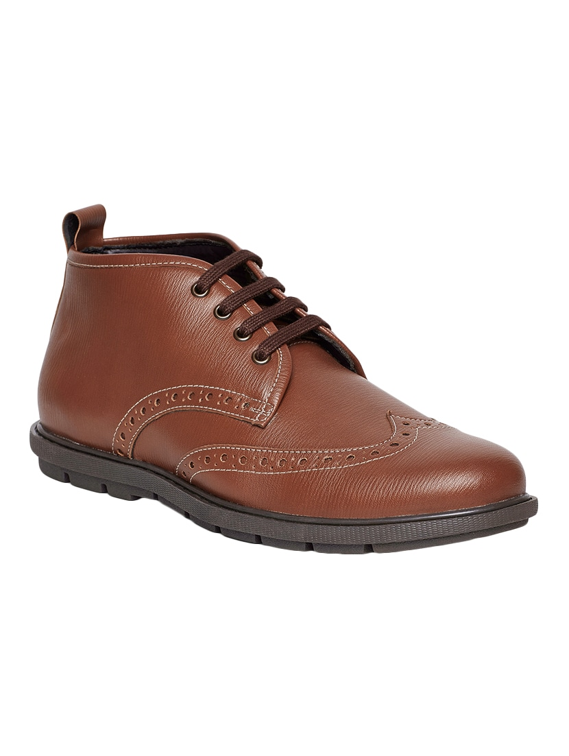 20ed9d5f86825f Buy Tan Leatherette Lace Up Derby Shoes for Men from Duke for ₹868 at 70%  off | 2019 Limeroad.com